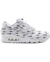 sports shoes 62ed2 0593b Nike - Air Max 90 Premium Sneakers - Lyst