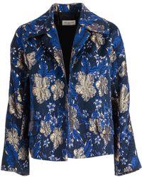 Dries Van Noten - Floral Printed Jacket - Lyst