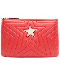 Stella McCartney - Stella Star Alter Nappa Clutch Bag - Lyst