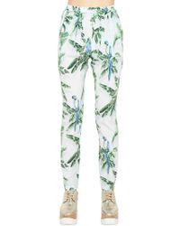 Stella McCartney - Silk Palm Pants - Lyst