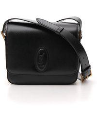 efbac7bce0 Saint Laurent Small Le 61 Convertible Crossbody Bag in Black - Lyst