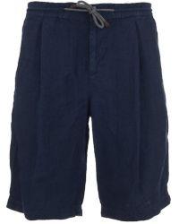 Brunello Cucinelli - Linen Shorts - Lyst