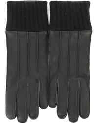Ferragamo - Knit Cuff Gloves - Lyst