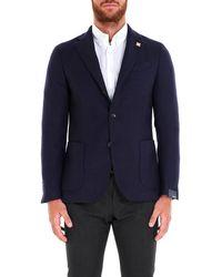 Lardini - Classic Tailored Blazer - Lyst