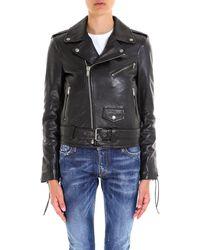 454a5ea7635 Women's Saint Laurent Jackets Online Sale - Lyst