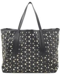 Jimmy Choo - Pimplico Star Studded Tote Bag - Lyst