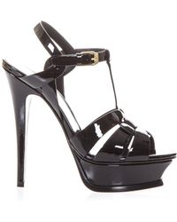 Saint Laurent - Tribute 140 Sandals - Lyst