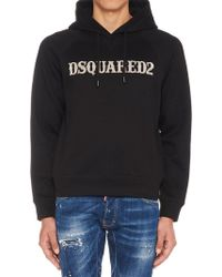 DSquared² - Logo Hoodie - Lyst