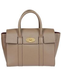 3dd35922d0 Lyst - Mulberry Bayswater Double Zip Leather Bag in Black