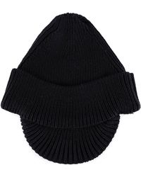 c7724a1b1c8 Lyst - Prada Knitted Bucket Hat In Black in Black for Men