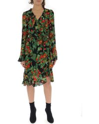 Marc Jacobs - Cherry Print Wrap Dress - Lyst