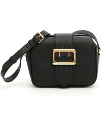 Lyst - Burberry Small Buckle Shoulder Bag in Pink e1f954d800