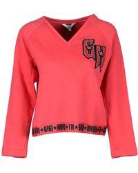 0a6e30983455 Lyst - Tommy Hilfiger X Gigi Hadid Colourblock Cardigan With Circle ...