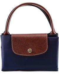 Lyst - Longchamp Le Pliage Folding Tote Bag in Natural fe3bd7698c4e4
