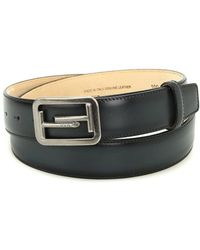 Tod's - Double T Buckle Leather Belt - Lyst