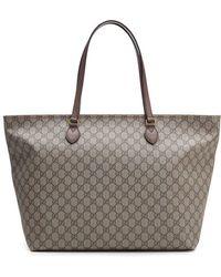 cd32a9df0 Gucci - Ophidia GG Supreme Medium Tote Bag - Lyst
