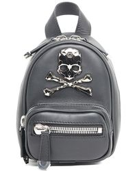Philipp Plein - Skull Embellished Mini Backpack - Lyst