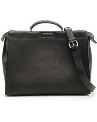 Fendi - Peekaboo Top Handle Bag - Lyst