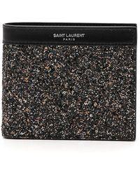 Saint Laurent - East/west Paris Bi-fold Wallet - Lyst