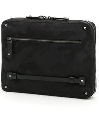 Valentino - Garavani Rockstud Camouflage Ipad Case - Lyst