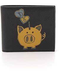 Dolce & Gabbana - Pig Print Wallet - Lyst