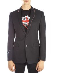 Dior Homme - Stitch Detailed Blazer - Lyst