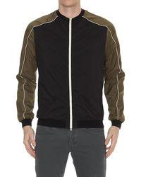 Herno - Contrasting Zip-up Jacket - Lyst