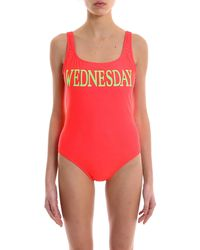 Alberta Ferretti - Rainbow Week Wednesday Swimsuit - Lyst