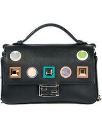 Fendi - Studded Mini Baguette Bag - Lyst
