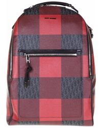 Dior Homme - Logo Printed Leather Backpack - Lyst