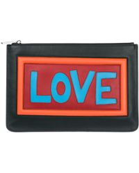 Fendi - Love Clutch Bag - Lyst