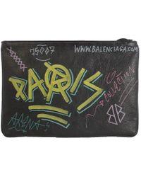 Balenciaga - Bazar Graffiti Pouch - Lyst