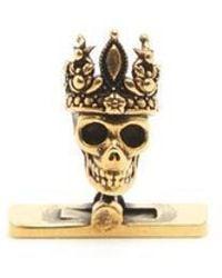 Alexander McQueen - King & Queen Cufflinks - Lyst