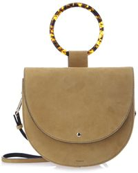 Theory - Whitney Suede Shoulder Bag - Lyst