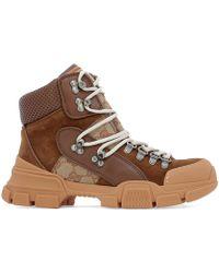 Gucci - GG Trekking Boots - Lyst