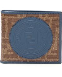 Fendi - Logo Embossed Bifold Wallet - Lyst