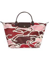 64aebecf80 Longchamp Darshan Large Tote Bag in Pink - Lyst