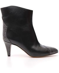 Étoile Isabel Marant - Studded Ankle Boots - Lyst