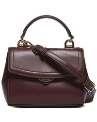 Lyst - Michael Kors Dillon Extra-small Saffiano Leather Crossbody in ... 1ba6cd6d9a7ad