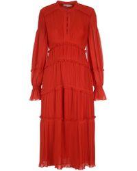 Tory Burch - Layered Dress - Lyst
