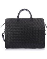 Bottega Veneta - Woven Leather Tote Bag - Lyst