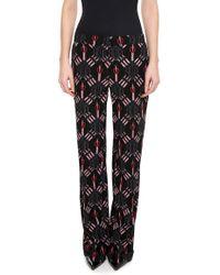 Valentino - Love Blades Silk Pyjamas Trousers - Lyst