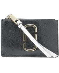 Marc Jacobs - Snapshot Zipped Wallet - Lyst