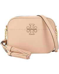 d534c57806a5 Lyst - Tory Burch Mcgraw Crossbody Bag in Pink