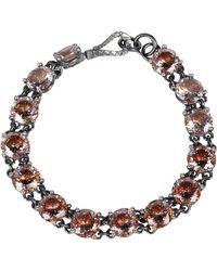 Bottega Veneta - Stud Embellished Bracelet - Lyst