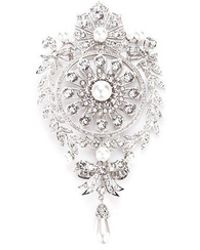 Givenchy - Filigree Studded Brooch - Lyst