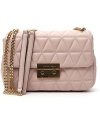 MICHAEL Michael Kors - Sloan Quilted Bag - Lyst