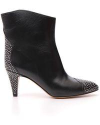 Étoile Isabel Marant - Studded Ankle Boots - Lyst