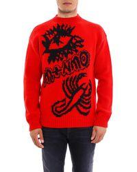 Stella McCartney - Members Intarsia Knitted Sweater - Lyst