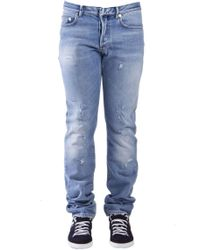 Dior Homme - Distressed Look Jeans - Lyst
